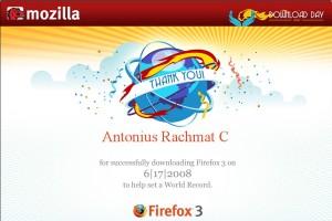 Firefox 3 Certificate